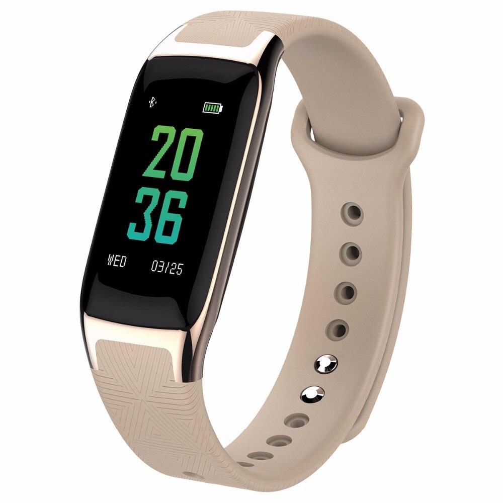 SOONHUA B20 Smart Band Bracelet Heart Rate Blood Pressure Sleep Monitor Pedometer Fitness Tracker Sport Wristband Android/IOS