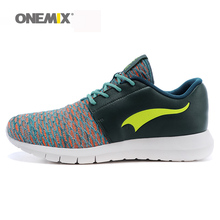 Onemix men's running shoes lightweight sport sneakers unisex spring & summer adult shoes women outdoor athletic shoes