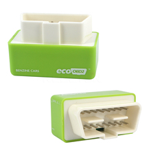 Green EcoOBD2 Car Economy Chip Tuning Box Eco OBD2 Plug & Drive 15% Fuel Save For Benzine Petrol Cars Lower Fuel Lower Emission