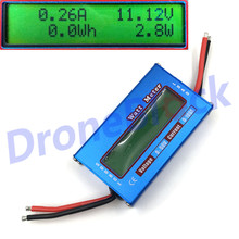 60V 100A Power Analyzer Watt Meter Digital LCD For DC Balance Voltage RC Battery(China)