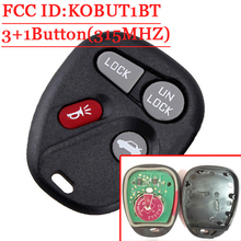 3+1 Button Remote Fob Control(FCC:KOBUT1BT) For GM/Chevy