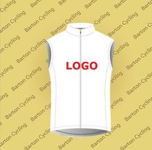 Custom Cycling Jersey Design Your Logo Summer Sleeveless Jersey Bike Racing Team Road Biker Cycling Sports Jersey S006(China)