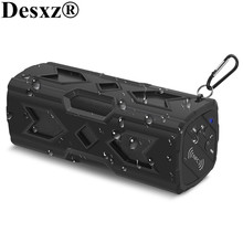 Desxz 10W NFC Speakers Wireless Bluetooth HiFi Subwoofer Stereo 3D Surround Sound Portable Music Phone Player Mini Box Outdoor(China)