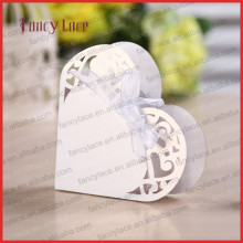 Hot Sale Creative Laser Cut Wedding Favor Candy Box, Chocolate Packing, Chocolate Boxes for Valentine Gift Wedding Decors, 50PCS