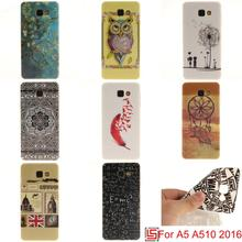 Ultra Thin TPU Silicone Soft Phone Mobile Case caso kryty shell Cover Bag For Samsung Samsuns Galaxy A5 2016 A510 A 5 A510F(China)