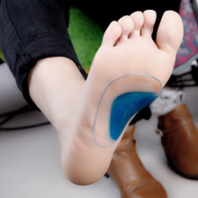 1Pair Arch Support Orthopedic Orthotic Insole Flat Foot Flatfoot Correction Shoe Insoles Cushion Inserts