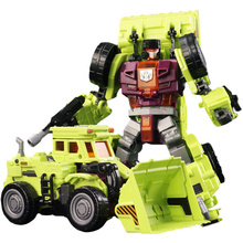 Engineering Devastator Toys Cool Transformation Ko g1 Action Figure Robot Car Scraper Model Deformation Assembly Kid Toys gifts(China)