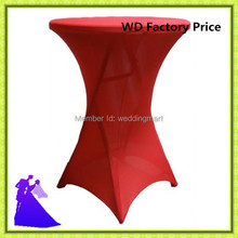 60*110cm or 70*110cm spandex cocktail table cover wedding cover for table cheap cover decoration free shipping
