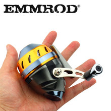 Closed Face Spincast reel Concealed Fishing Wheel Catapults Aluminum alloy Hunting Fish Fishing Reel with Fishing Line Pesca(China)