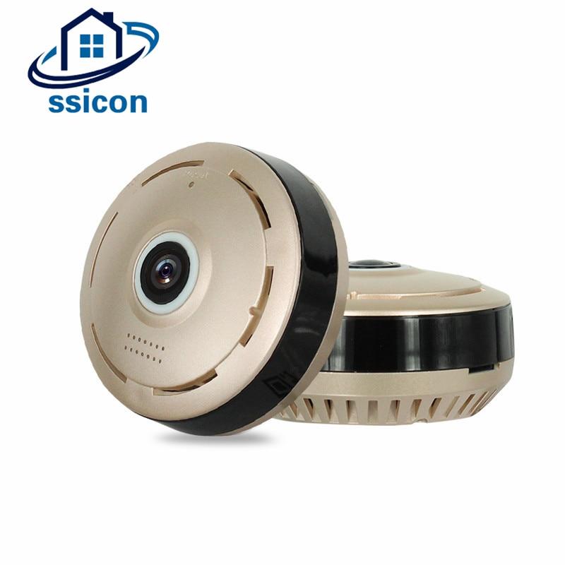 SSICON Wireless Security Surveillance Camera 1.3MP Panoramic Fisheye WIFI 360 VR Camera <br>