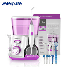 Waterpulse V300 hilo Dental Pro agua Flosser hilo 800 ml de higiene Oral agua Dental Oral de riego para cuidado de los dientes(China)