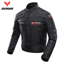 DUHAN Motorcycle Jacket Windproof Motorcycle Full Body Protective Gear Armor Autumn Winter Motorbike Riding Jacket Moto Clothing(China)