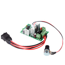Adjustable DC Motor Speed Controller PWM Speed Adjuster 120W PWM DC Motor Controller 10V 12V 24V 30V 3A Reversing Switch