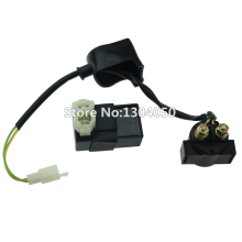 Chinese Gy6 50cc 125cc 150cc 250cc Scooter Atv Quad Dirt Bike Starter Relay Solenoid CDI Box Taotao SunL FREE SHIPPING