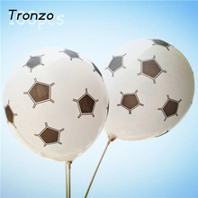 Tronzo 12inch Latex Football Balloons Birthday Party Decoration For Children Toys Soccer Ball Balloons Party Supplier