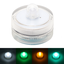 ITimo Candles Lamp Submersible LED Holiday Lighting 1 LED Bulb Home Decoration Tea Light Vase Light Waterproof 4 Colors