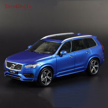 New arrival VOLVO XC90 1/18 GTA welly car model SUV Sport version Luxury Cars alloy diecast Car Model kids toy brinquedo gift