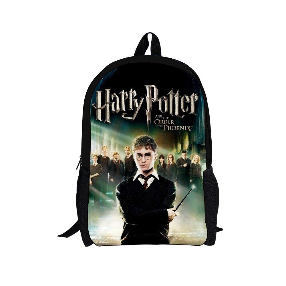FORUDESIGNS Newest Harry Potter School Bag 3D Children Book Bag,Men Cartoon Backpack,Boys Shoulder Bag Teenagers Travel Bag<br><br>Aliexpress