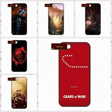 Gears Of War Skull Marcus Fenix  Phone Cases Cover For iPhone 4 4S 5 5S 5C SE 6 6S 7 Plus 4.7 5.5    #SD01372