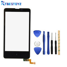 RTBESTOYZ Touch Screen For Nokia X Dual SIM RM-980 4'' Glass Lens With Digitizer Replacement(China)
