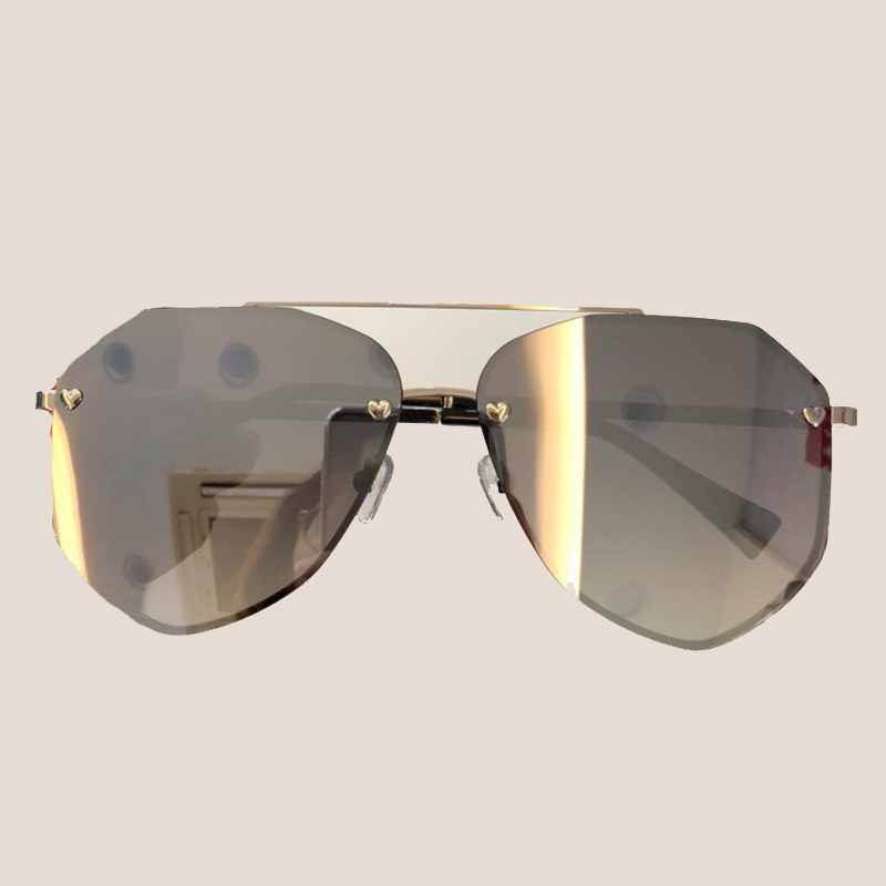 Alloy Frame High Quality Sunglasses for Women Brand Designer High Quality Oculos De Sol Feminino Vintage Fashion Eyewear