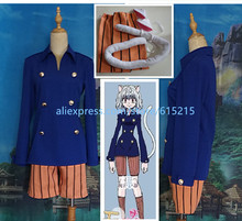HUNTER x HUNTER Catwoman Neferpitou Cosplay Costume Anime Custom Made Uniform