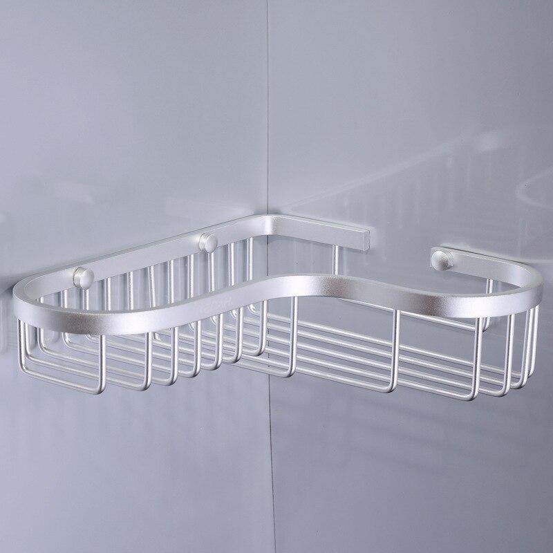 Free shipping bathroom space aluminum single bathroom racks wholesale hardware accessories L5105 bathroom racks<br><br>Aliexpress