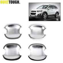 Fit For 2008 2009 2010 2011 2012 2013 2014 2015 Chevrolet Captiva Chrome Door Handle Cover Bowl Trim Cup Molding Overlay Bezel