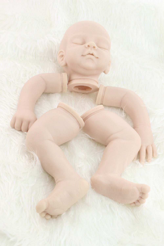 New model free shipping hotsale doll kit wholesale  DIY blank kit soft  vinyl reborn doll kit<br>