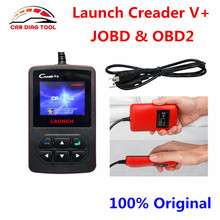 100% Original Launch Creader V+ VI Plus OBDII Code Scanner Credaer V Plus JOBD OBD Diagnostic Tool Creader 6 Free shipping
