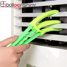 BalleenShiny Cleaning Brushs Blind Air Conditioning Shutter Brush Corners Gap Washable Multifunctional Cleaner Dust Remover Clip