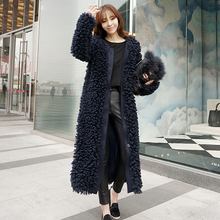 YingYuanFang Winter new Korean ultra-comfortable plush coat female loose wild tide models extended(China)