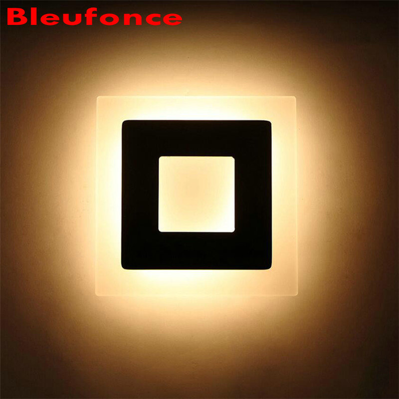 18W Super Bright LED Acrylic Aluminum Indoor Wall Lamp Bedroom Living Room Corridor Wall Sconce Home Decorate Lighting nb58<br><br>Aliexpress