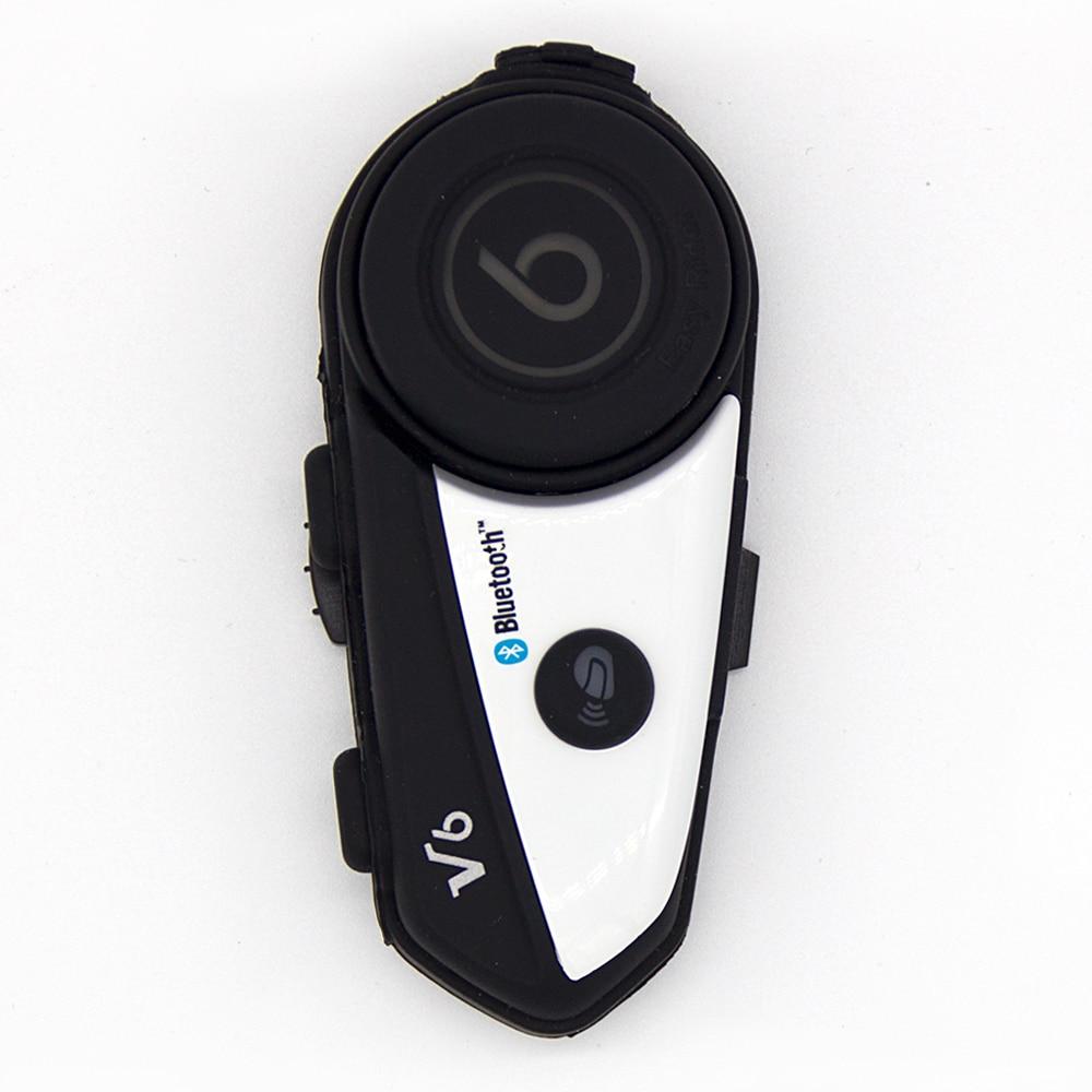 Wireless V6 Multi-functional Motorbike BT Interphone Motorcycle Helmet Bluetooth Intercom Headset for Rider Motorcycle Intercom