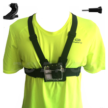 Chest Strap mount for Go pro SJCAM SJ4000 GoPro Accessories Chest Mount Harness for Gopro hero 5 4 SJ5000 Action sport camera 10