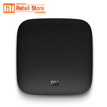Глобальная версия Xiaomi mi tv Box 3 Android Smart tv Box Четырехъядерный 4 К к 8 г HDR wifi Bluetooth Youtube MovieSet-top Xio mi Box(China)