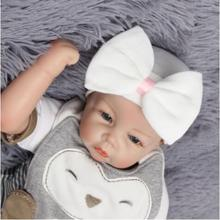 Fashion Baby unisex Hat beanie with big bow infant girls and boys Newborn Hospital Hat baby accessories free size 0-3 months