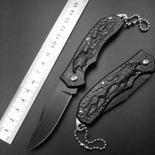 Eagle Keychain Mini cheap price Wholesale Pocket Folding Knife 440C Blade Titanium Handle Outdoor Survival Knives Gift for man(China)