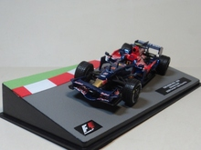 ix o 1:43 TORO ROSSO STR3 2008 F1 Red Bull Racing boutique alloy car toys for children kids toys Model Original packaging