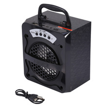 MS-130BT Outdoor Speaker Portable Wireless Bluetooth Speaker Super Bass Speaker with USB/TF/AUX/FM Radio Free Shipping