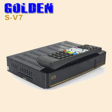 1PC S V7 Digital Satellite Receiver S V7 S-V7 with AV output VFD Screen 2USB WEB TV USB Wifi  Youporn CCCAMD DVB-S2 DVB S2
