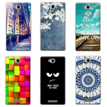 "For Sony C2304 C2305 Case Cover, Hard PC Plastic Back Cover Case For Sony Xperia C S39H / C 2304 2305 5.0"" Phone Cases Cover"