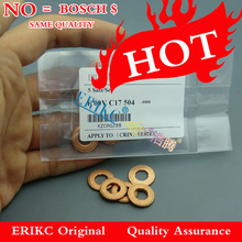 F00VC17504 ERIKC Common Rail Injector Copper Washer F00V C17 504, Copper gasket washer size: 7.1*15*2mm, thickness 2mm