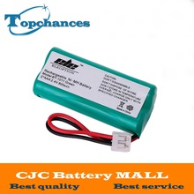 High Quality 2*AAA Ni-MH 800mAh 2.4V Rechargeable Cordless Home Phone Battery for Uniden BT-1011 BT1011 BT-101 BT1018(China)