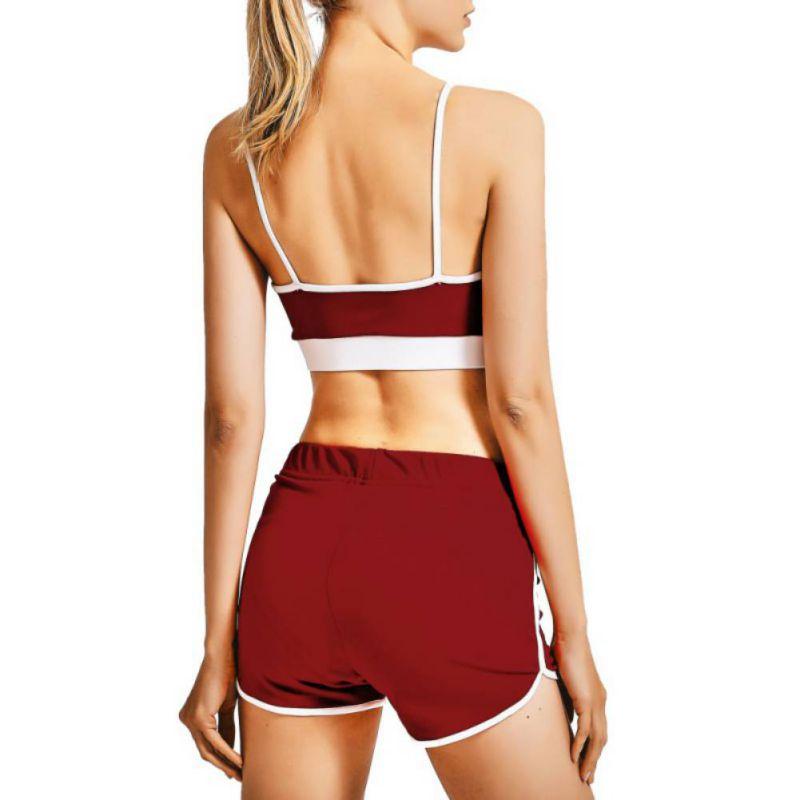 Sport Suit Tracksuit Bra+Short Sportswear 22
