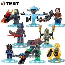 TMGT 8pcs SY662 Super Heroes the Lastest Knights Iron Man Building Bricks Blocks DIY Toys Children Gifts(China)
