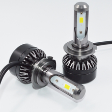 1 pair 60W Car Headlights H7 LED H4 H11 9005/HB3 9006/HB4 Led Bulb 10000lm Automobiles Headlamp White 6000K Car Lighting(China)