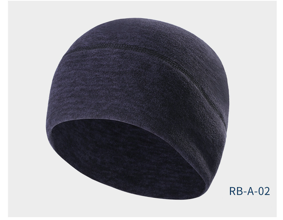 Cycling Cap Fleece Keep Warm Mens Winter Hats Thickened Thermal Head Bandanas for Outdoor Running Skiing Sports Snowboarding Cap (11)
