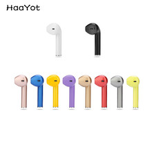 HAAYOT Colorful Bluetooth Earphone Phone Sport Headset In Ear Wireless Stereo Mini Headphone Earpiece With Micro Charger Port(China)