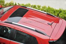 Side Bars Rails Roof Rack Car Roof Luggage Carrier Baggage Rack Holder For Chevrolet TRAX TRACKER 2013 2014 2015 2016(China)